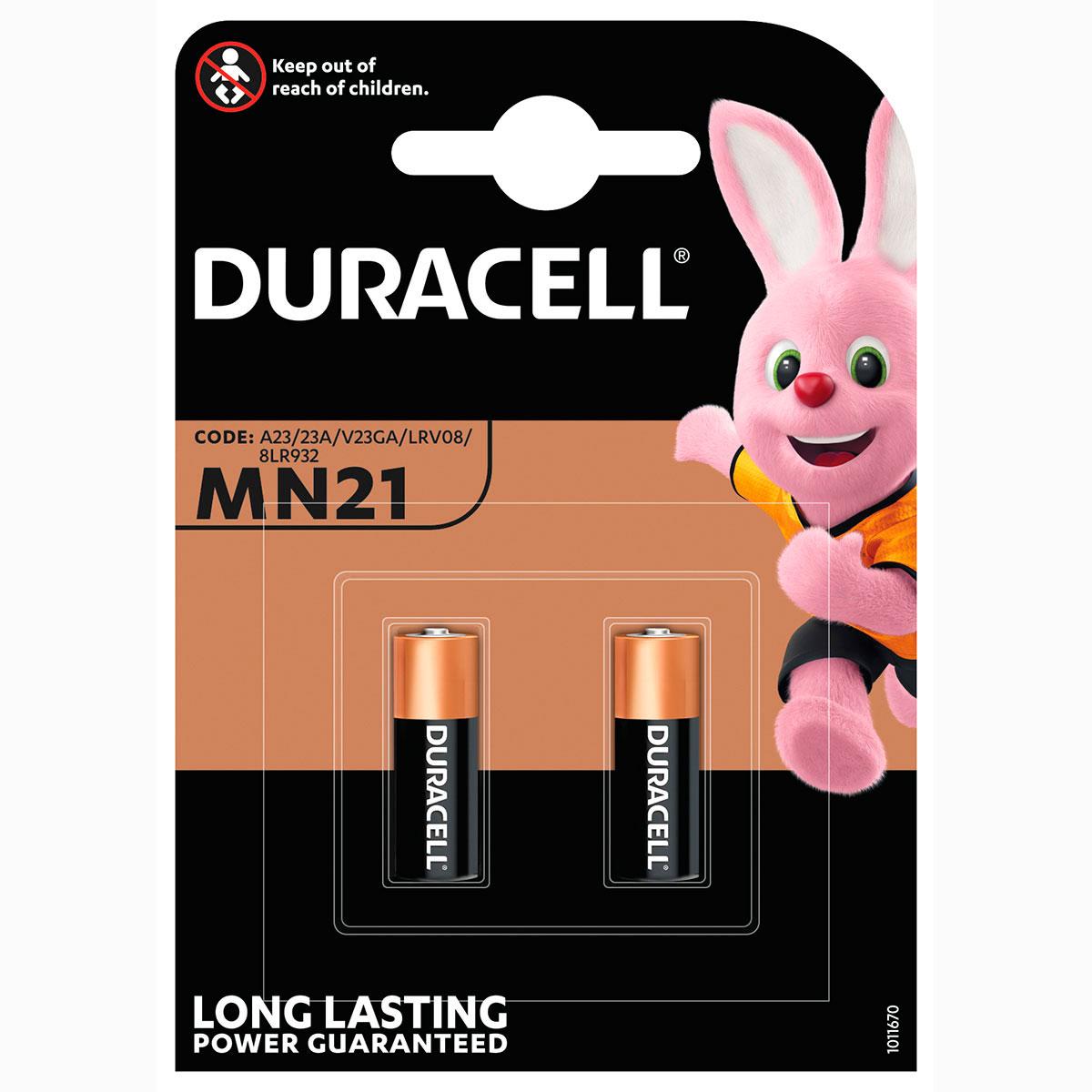 Prima 23A batteri Alkaline - Duracell Ultra 2 stk. OI-21