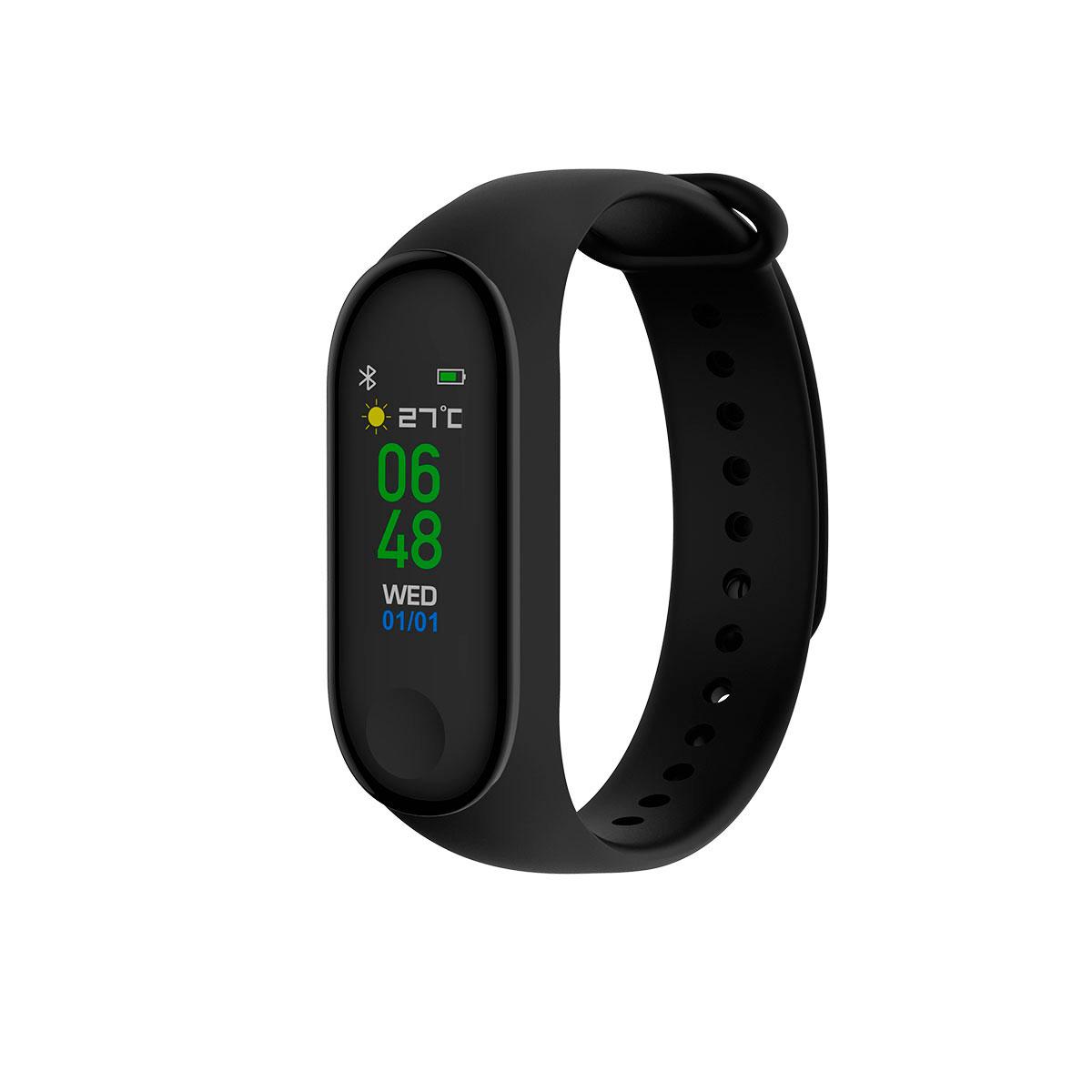 d5cee5c8b48 Fitness armbånd (Bluetooth) Sort - Køb Denver BFH-240 her