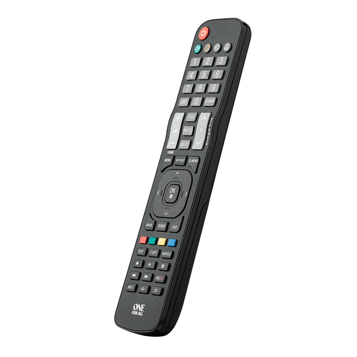 Smuk Universal fjernbetjening - Find ny remote til fx TV og DVD MT-99