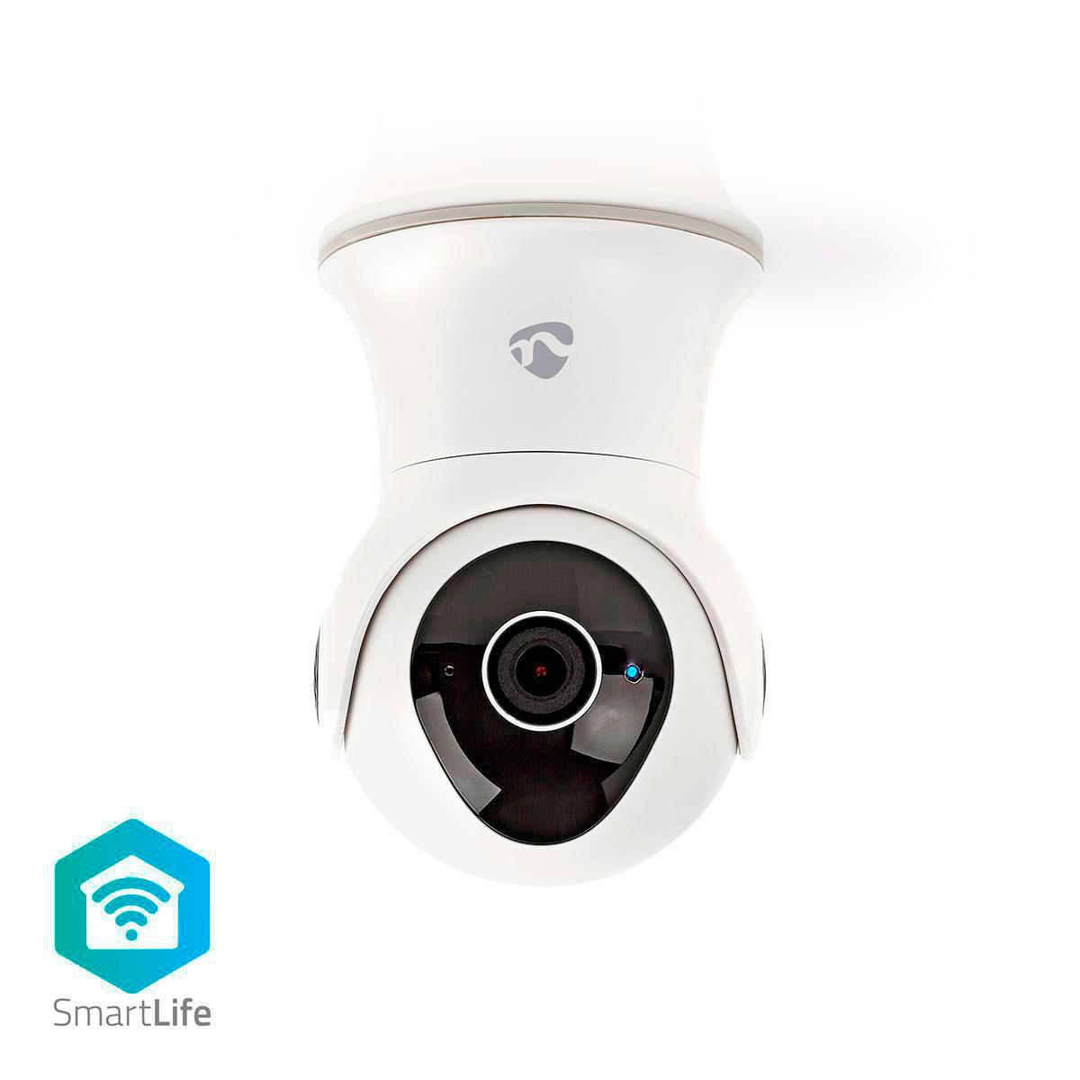 Nedis SmartLife IP kamera 1080p (Vandtæt) Hvid - Køb her