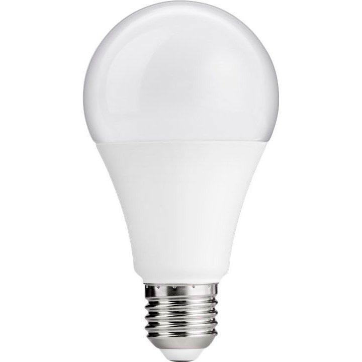 Kæmpestor LED pære E27 Mat - 11W (75W) Goobay - Køb Goobay LED pære DS35