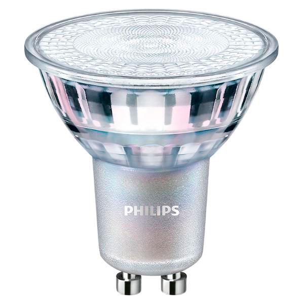 Lige ud Philips dæmpbar LED pære GU10 - 5W (50W) - Køb Philips CorePro EL15