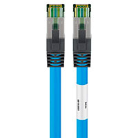 Netværkskabel S-FTP Cat 8 - Blå