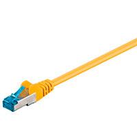 Netværkskabel S-FTP Cat6a - Gul