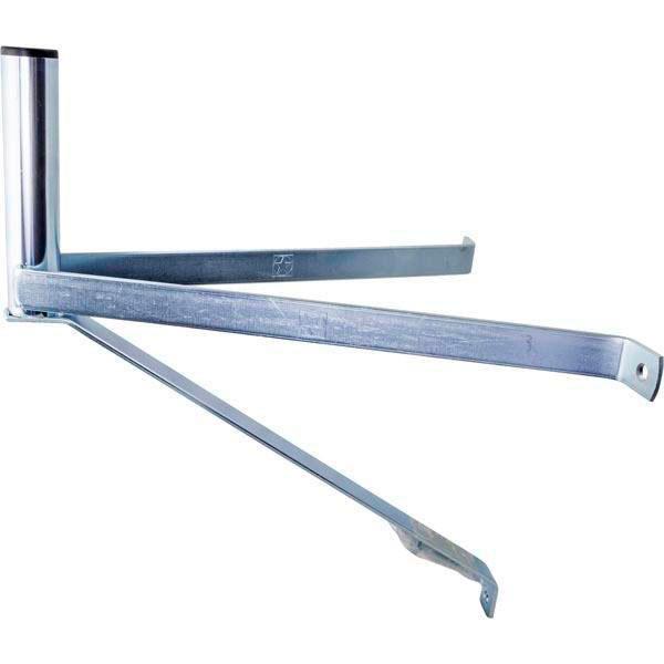 Parabol beslag (32mm - 29 x 35 x 37 cm) Aluminium