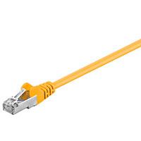 Netværkskabel S-FTP Cat5e - Gul