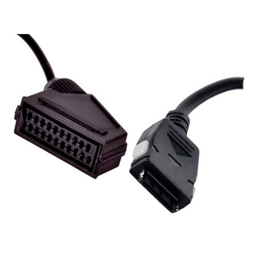 scart adapter til samsung tv med 0 2m kabel. Black Bedroom Furniture Sets. Home Design Ideas