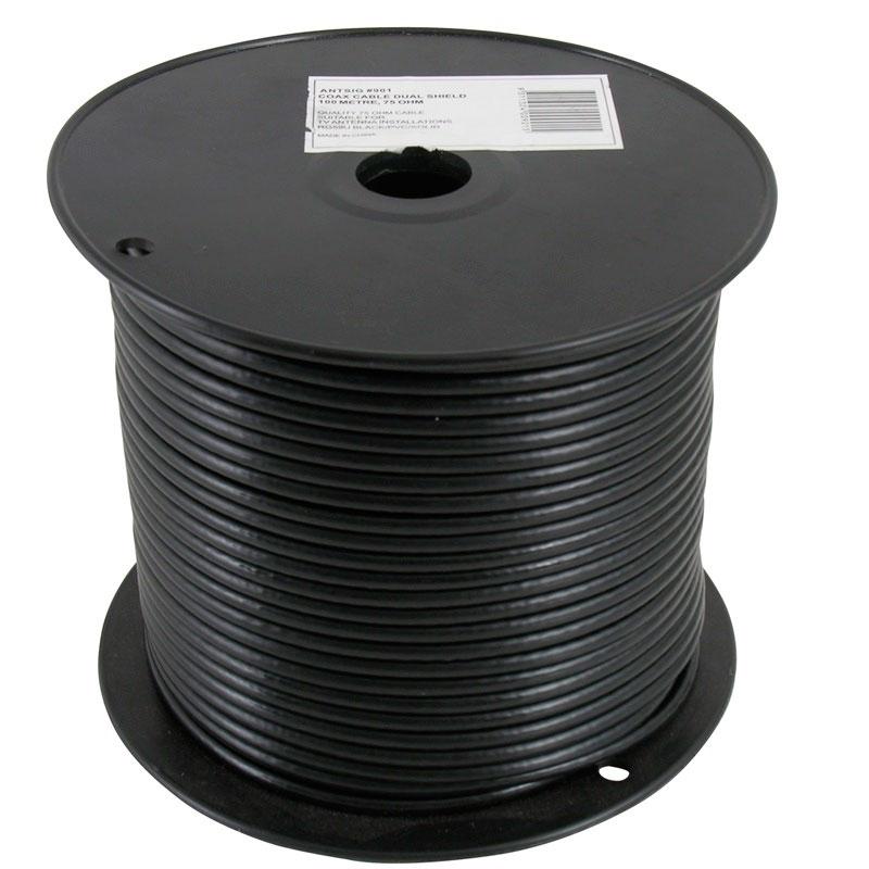 Coax Jordkabel Udend 248 Rs Antennekabel 100 Meter