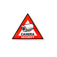 Videoovervågning skilt